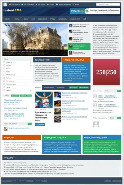 Ссылка на запись в блоге wwwinstantcmsru